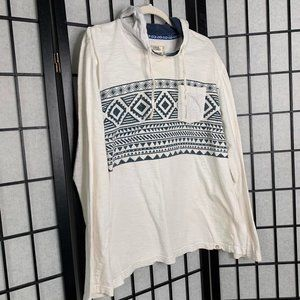 Free Planet Long Sleeve Top White Large